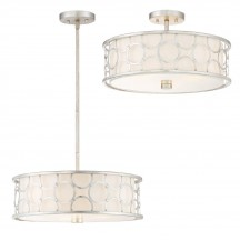 Savoy House Europe Triona Convertible Semi-Flush