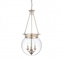 Savoy House Europe Glass Filament 3 Light Hanging Lamp