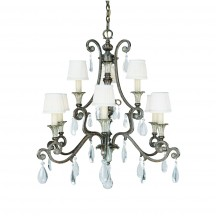 Savoy House Europe St. Laurence 9 Light Chandelier