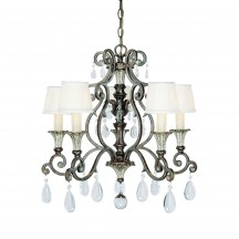 Savoy House Europe Versalles 5 Light Chandelier