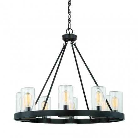 Savoy House Europe Inman 8 Light Outdoor Chandelier