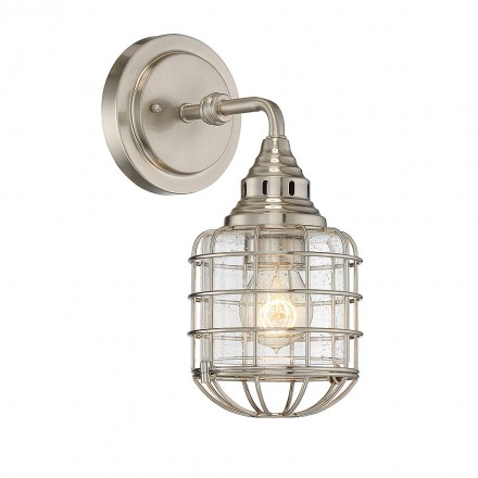 Savoy House Europe Connell 1 Light Sconce