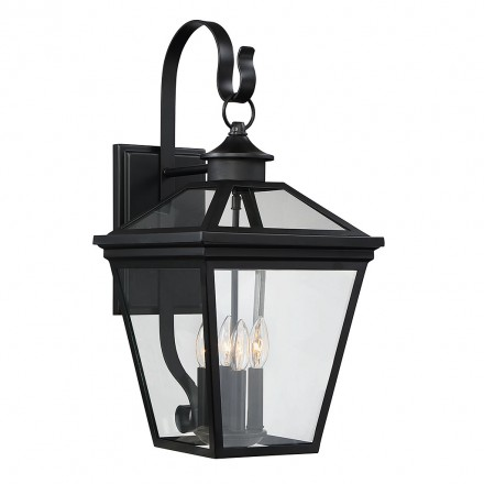 Savoy House Europe Ellijay 4 Light Steel Wall Lantern