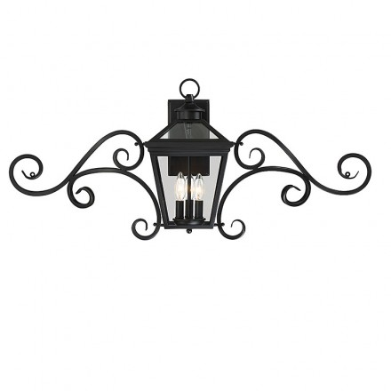 Savoy House Europe Ellijay 3 Light Steel Wall Lantern