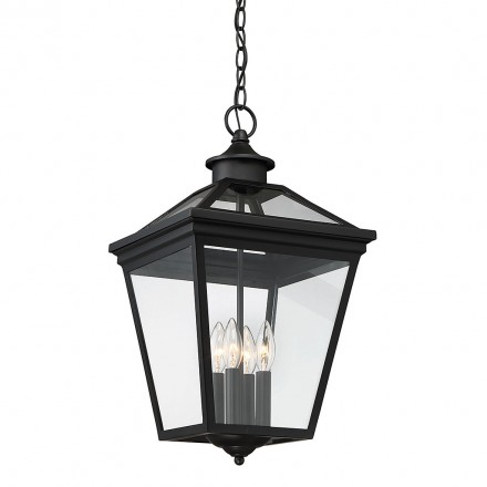Savoy House Europe Ellijay 4 Light Steel Hanging Lantern