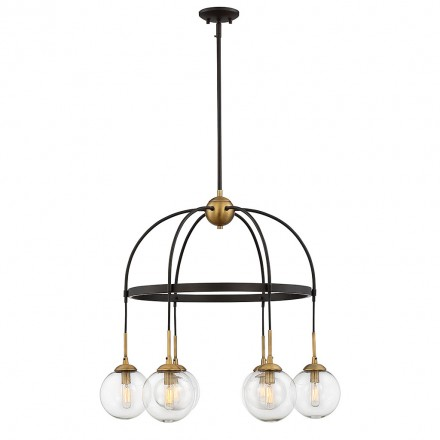 Savoy House Europe Fulton 6 Light Chandelier