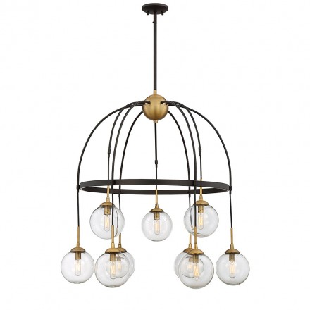 Savoy House Europe Fulton 9 Light Chandelier