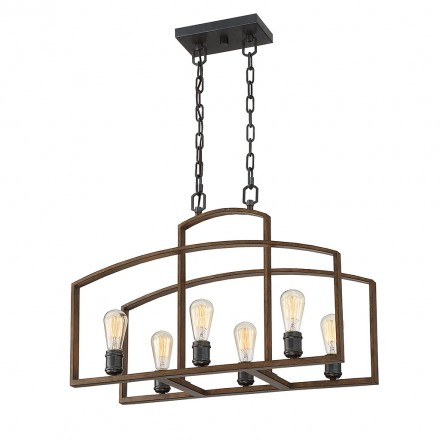 Savoy House Europe Gage 6 Light Chandelier