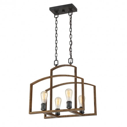Savoy House Europe Gage 4 Light Chandelier