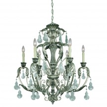 Savoy House Europe Florita 6 Light Chandelier