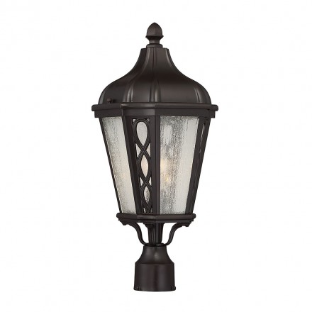 Savoy House Europe Hamilton 1 Light Post Lantern