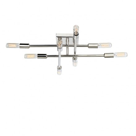Savoy House Europe Lyrique 8 Light Semi Flush