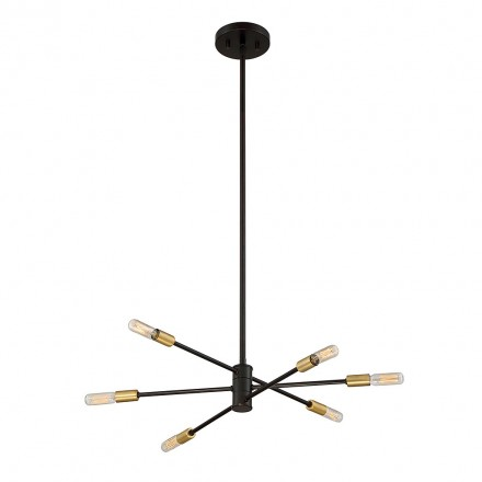 Savoy House Europe Lyrique 6 Light Chandelier