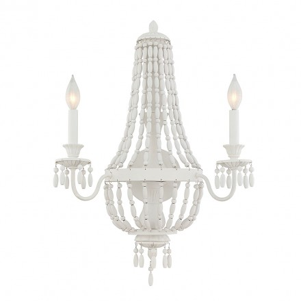 Savoy House Europe Geneva  2 Light Sconce