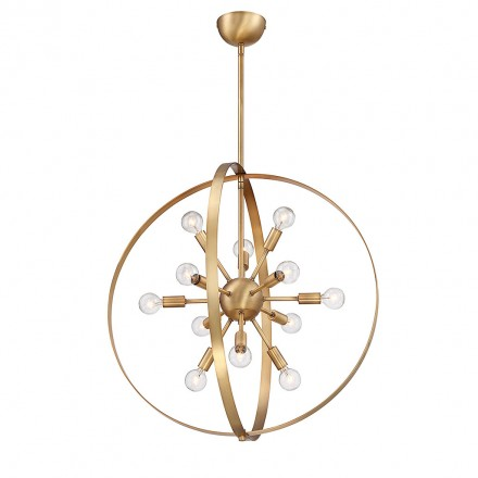 Savoy House Europe Marly 12 Light Chandelier