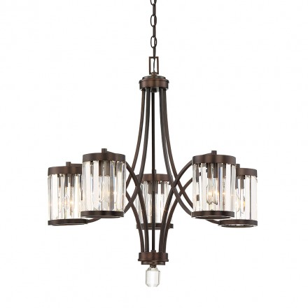 Savoy House Europe Nora 5 Light Chandelier