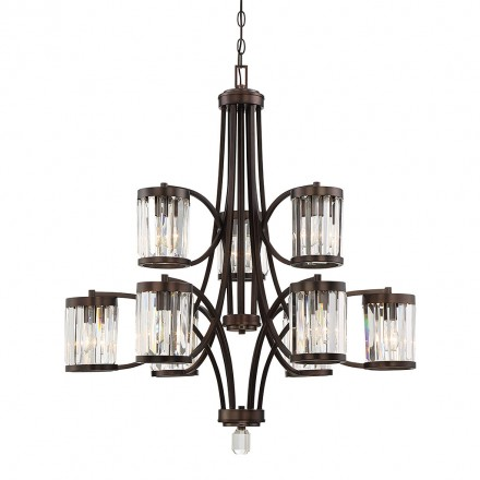 Savoy House Europe Nora 9 Light Chandelier