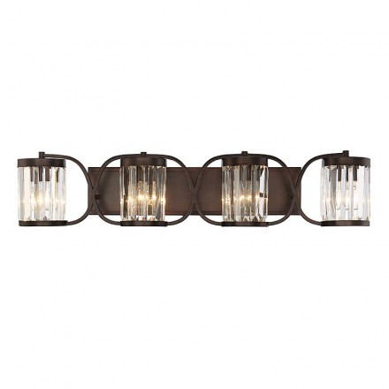 Savoy House Europe Nora 4 Light Bath Bar