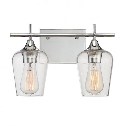 Savoy House Europe Octave 2 Light Bath Bar