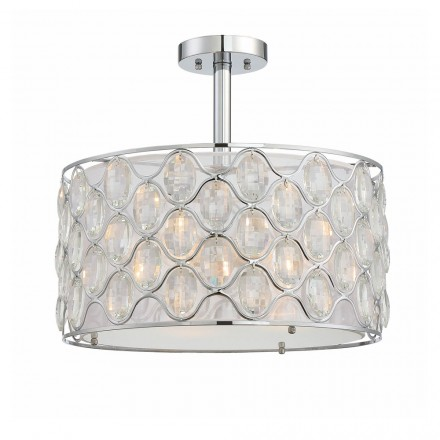 Savoy House Europe Opus 3 Light Semi Flush