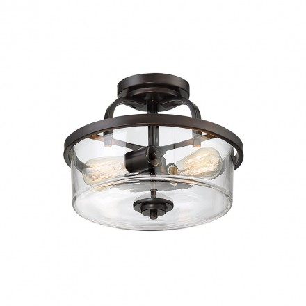 Savoy House Europe Tulsa 2 Light Semi Flush