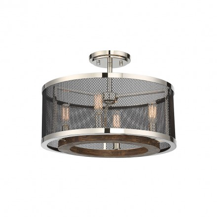 Savoy House Europe Valcour 4 Light Semi-Flush