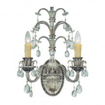 Savoy House Europe Mª Antonieta 2 Light Wall Lamp