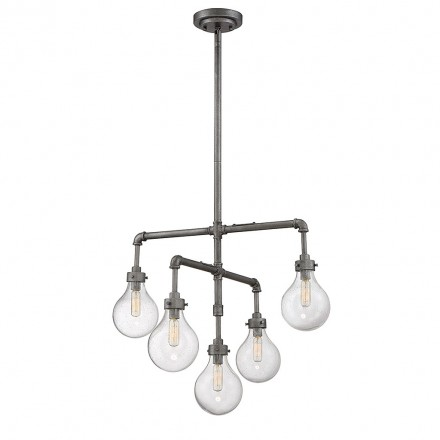 Savoy House Europe Dansk 5 Light Chandelier