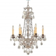 Savoy House Europe Mª Antonieta 6 Light Chandelier