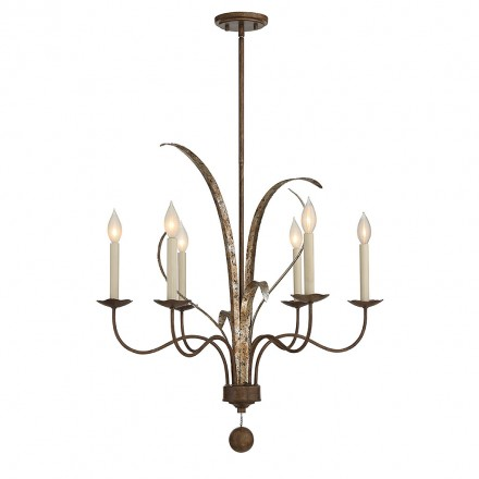 Savoy House Europe Mandolin 6 Light Chandelier