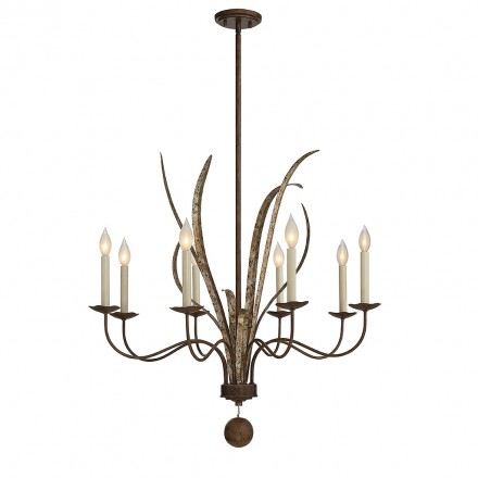 Savoy House Europe Mandolin 8 Light Chandelier