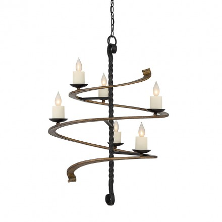 Savoy House Europe Napoli 6 Light Chandelier