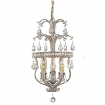 Savoy House Europe Mª Antonieta 3 Light Hanging Lamp