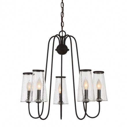 Savoy House Europe Oleander 5 Light Outdorr Chandelier
