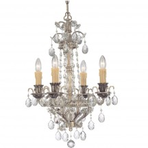 Savoy House Europe Mª Antonieta 4 Light Chandelier