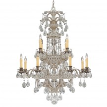Savoy House Europe Mª Antonieta 12 Light Chandelier