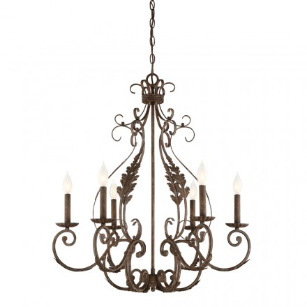 Savoy House Europe Blair 6 Light Chandelier