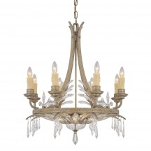 Savoy House Europe Diavolo 8 Light Chandelier