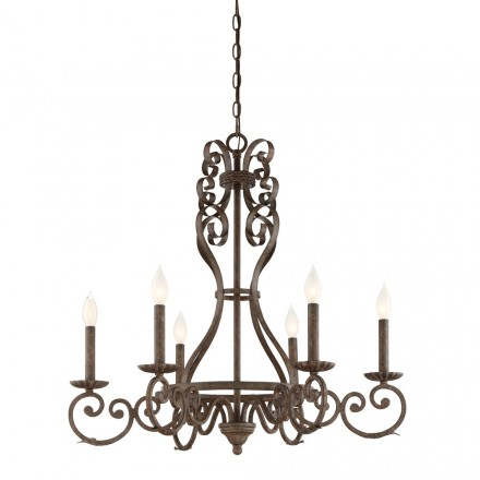 Savoy House Europe Bree 6 Light Chandelier
