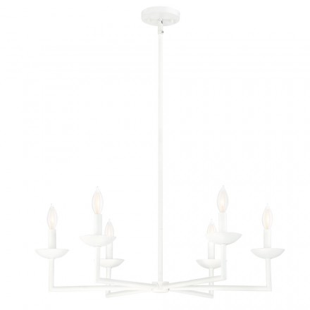 Savoy House Europe Piper 6 Light Chandelier