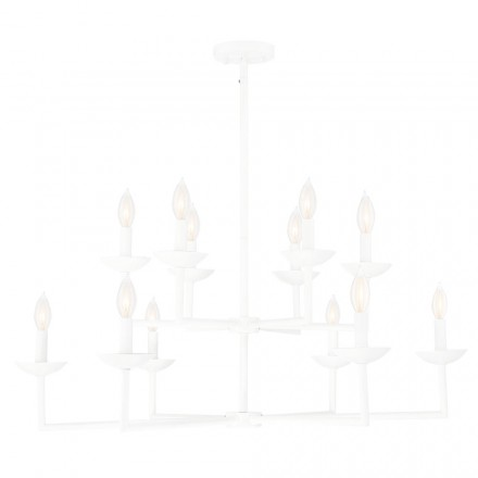 Savoy House Europe Piper 12 Light Chandelier