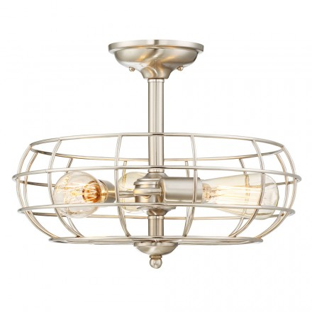 Savoy House Europe Scout 3 Light Semi-Flush