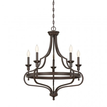 Savoy House Europe Sheilds 5 Light Chandelier