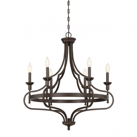 Savoy House Europe Sheilds 6 Light Chandelier