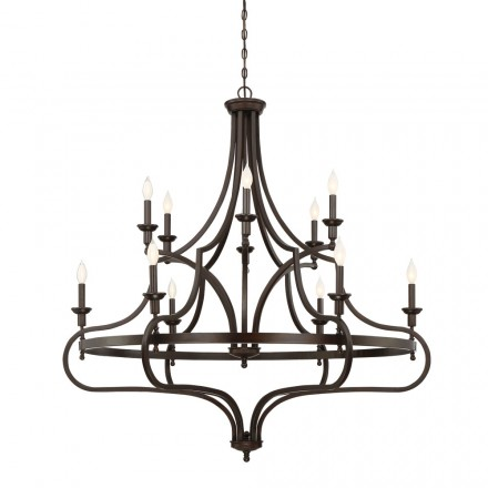 Savoy House Europe Sheilds 12 Light Chandelier