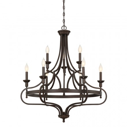 Savoy House Europe Sheilds 9 Light Chandelier
