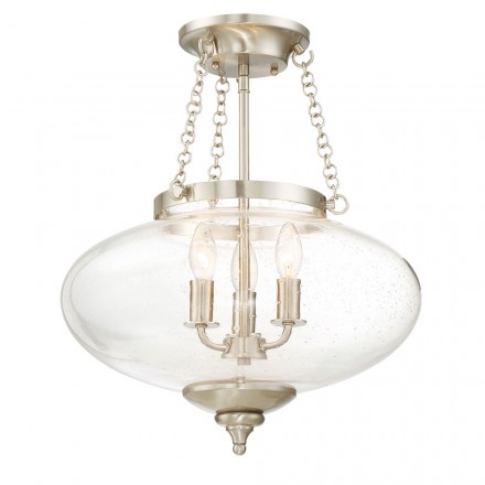 Savoy House Europe Talbott 3 Light Semi-Flush