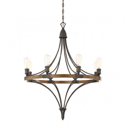 Savoy House Europe Turing 8 Light Chandelier