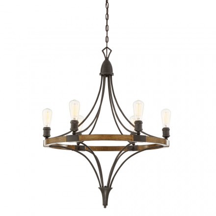 Savoy House Europe Turing 6 Light Chandelier