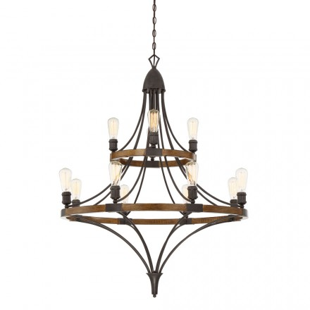 Savoy House Europe Turing 12 Light Chandelier